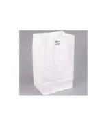 500 bundle 20 lb. Shorty White Paper Bag - $63.31