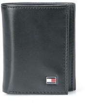 Tommy Hilfiger Men's Leather Credit Card Wallet Slim Trifold Black 31TL11X018 image 1