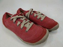 Keen CNX II Oxford Size US 7 M (B) EU 37.5 Women's Lace Up Sneakers Shoes Red - $46.99