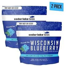 Wisconsin Blueberry Green Tea by Cedar Lake Teas-Unsweetened Whole Leaf ... - $16.50