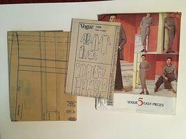 Vogue Sewing Pattern  # 1426 SZ 20-22-24 Dress, Top, Pants, Skirt. Jacket Uncut image 10