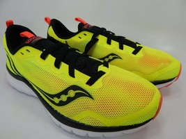Saucony Liteform Feel Size 9 M (D) EU 42.5 Men's Running Shoes Citron S40008-3