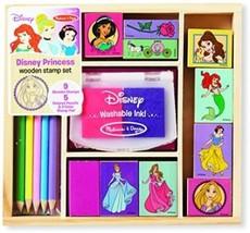 Disney Princess Wooden Stamp Set - $17.82