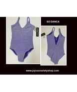 So Danca Dancewear Leotard Various Sizes Lavender NWT - $13.99