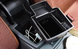 ABS Black Interior Armrest Storage Box Cover Trim For Audi Q5 8R 2008 - ... - $29.91