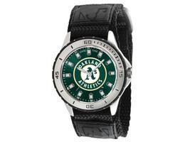 NEW MLB Oakland Athletics Men's Veteran Series Game Time Watch - $29.99