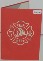 Lovepop LP1519 Fire Truck Red Pop Up Card White Envelope Paper Cellophane Wrap image 2