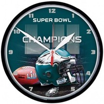Philadelphia Eagles Super Bowl LII Champion Wall Clock WinCraft - $24.95