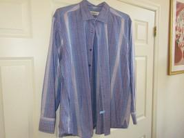 Tommy Bahama , Size XL/TG  , Men's Long Sleeve Shirt , 88% Cotton , 12% Silk - $39.55