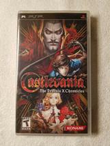 Castlevania: The Dracula X Chronicles (Sony PSP, 2007)  1st Edition Black Label - $75.00