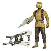 Star Wars The Force Awakens 3.75-Inch Figure Space Mission Resistance Tr... - $9.89