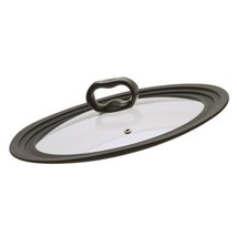 "Universal Glass Vented Lid, Graduated Fits 9.5"", 10"", & 12"" Diameter Pot... - $27.22"