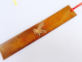 Leather Bookmark - Eagle - $10.00