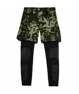 Nike Lab X MMW 2 in 1 Shorts and Tights Camo Matthew M Williams AR5615 L... - $151.99