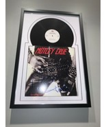 Motley Crue Hand Signed Autographed By All 4 Framed Album LP Record W/COA - $923.94