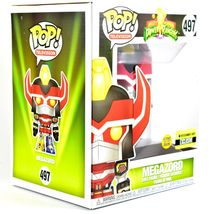 "Funko Pop Power Rangers 6"" Megazord Entertainment Earth Glow in Dark Exclusive image 5"