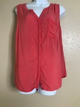 Old Navy Sleeveless Top Size XL Pink Shirt - $15.70
