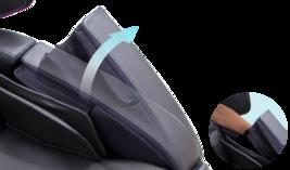 Human Touch Espresso Brown Bali Massage Chair Recliner w Arm Calf + Foot Massage image 8