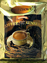 Gold Choice Ginseng  Instant Coffee 20 Sticks x 20g ( Pack of 12 ) - $128.69
