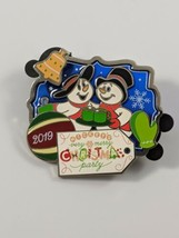 Disney Mickey's Very Merry Christmas Party 2019 Snowmen Limited Edition Pin - $14.84