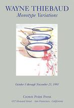 Wayne Thiebaud-Monotype Variations-1991 Poster - $233.75