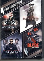Blade Collection 4 Film Favorites New Sealed DVD - $8.95