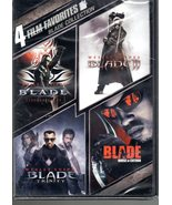 Blade Collection 4 Film Favorites New Sealed DVD - $10.95