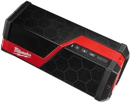 Milwaukee Wireless Jobsite Speaker 18/12 Volt Lithium-Ion Bluetooth Enabled - $166.95