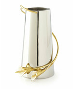 Calla Lily by Michael Aram Stainless Steel and Brass Vase Medium - New - $175.00