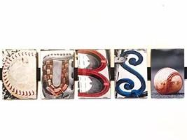 CUBS Framed Photograph Word Letter Art Alphabet Creative Home Decor Office Gift - $50.00