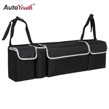 Car Trunk Organizer Backseat Storage Bag High Capacity Multi-use Oxford ... - £27.84 GBP