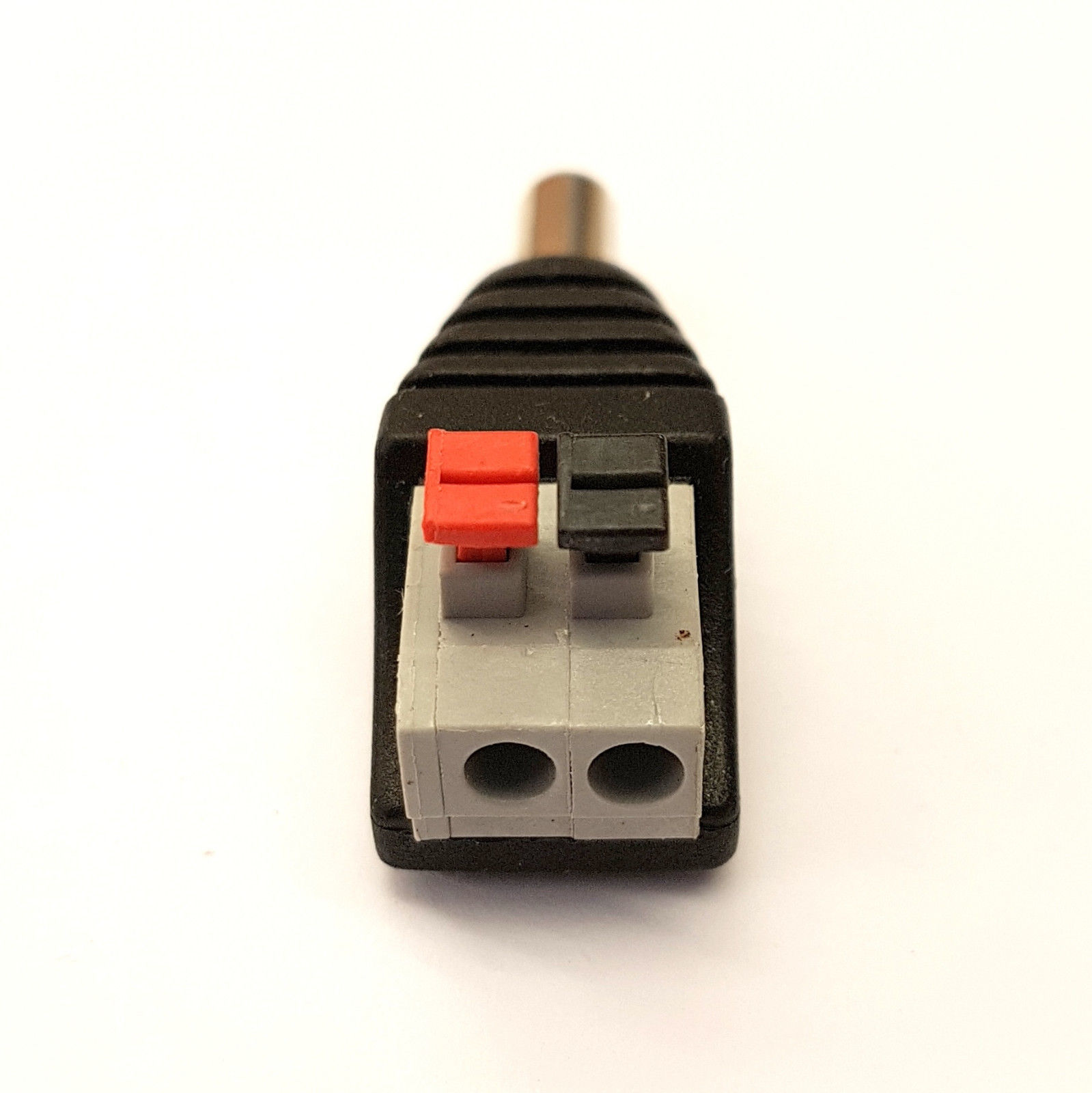 DC POWER CABLE 5.5mm x 2.1mm STRAIGHT to RIGHT ANGLE 90° PATCH JUMP LEAD