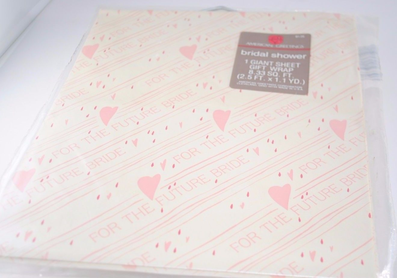 Vintage Sheet Bridal Shower Gift Wrap And Similar Items