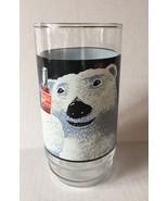 Christmas COCA-COLA Polar Bear Glass 1995 Indiana Glass Always Cool - £6.81 GBP