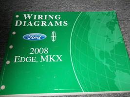 2008 Ford Orlo Lincoln MKX Elettrico Cablaggio Diagramma Manuale Ewd OEM - $45.23