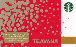 Starbucks 2015 Teavana Collectible Gift Card New No Value - $3.99