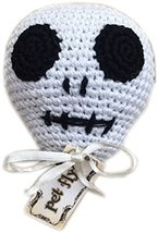 Mirage Pet Products Knit Knacks Skully the skull Organic Cotton mall Dog Toy, Sm - $12.50