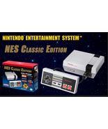 NES Classic Edition Console 30 Retro Games Brand New in Box  - $139.95