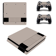PS4 SLIM - Nintendo, Retro - Vinyl Skin + 2 Controller Skins [0023] - $15.85
