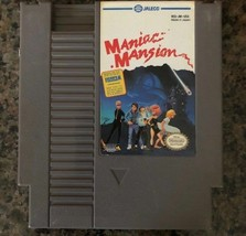 Nintendo Maniac Mansion NES Video Game, Cartridge Only, Tested 1985 - $17.09