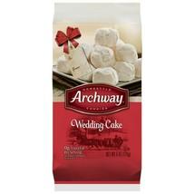 (Pack of 5) Archway 6 Oz Taste The Season Wedding Cake Homestyle Cookies 3/7/20 - $29.69