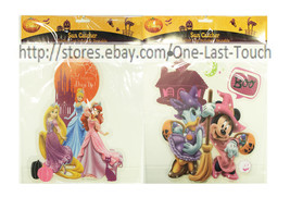 DISNEY Reusable SUN CATCHER Suction Cup HALLOWEEN Paper Magic *YOU CHOOSE* - $2.98