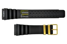 24mm Diver's SURFER Watch band Black PU STRAP Fits CITIZEN (N. D. Limits)  - $17.95