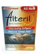 Alteril Natural Sleep Aid Liquid Softgels, 30 ea Exp 05/21 - $18.91
