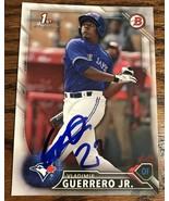 Vladimir Guerrero Jr. SIGNED AUTO Autograph 2016 Bowman BP55 Blue Jays R... - $114.99