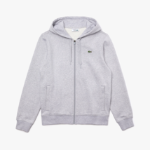Lacoste Men's Hooded LTweight Bi-material Sweatshirt NEW AUTHENTIC GreyS... - $89.99