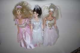 Lot of Ballerina Ballet Barbies Nutcracker Sugar Plum Fairy Swan Lake - $24.95