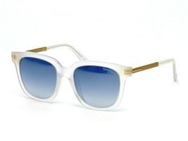 Tom Ford Tf 475 D 21X Mate Plástico Transparente Gafas de Sol Azul Degra... - $188.09