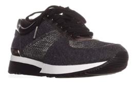 Michael Michael Kors Women's Allie Trainer Sneakers, Charcoal, 6 B(M) US - $123.99