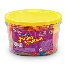JUMBO MAGNETIC NUMBERS 36/PK  - $17.99